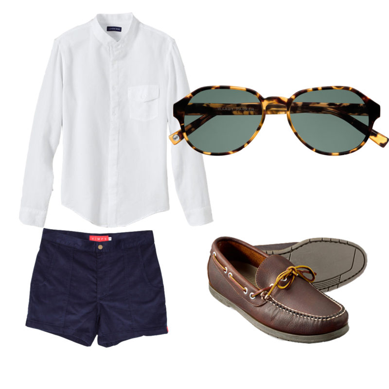 Simple summer style men butch